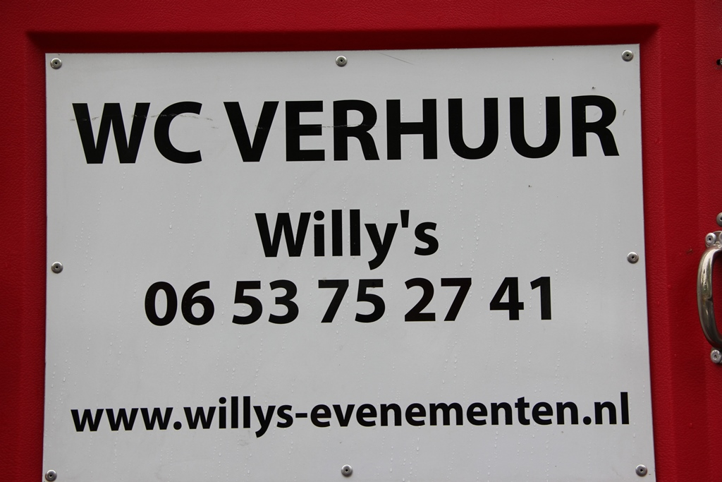 Toilet verhuur willy s evenementen willy s evenementen